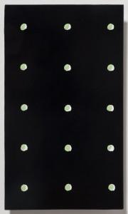 <strong><em>Summer 4</em>, 2010, oil enamel on powder coated steel, 10x6 inches