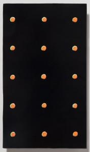 <strong><em>Summer 2</em>, 2010, oil enamel on powder coated steel, 10x6 inches
