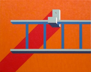 Hook and Ladder 2, 2004, oil on canvas, 24 x 30 inches