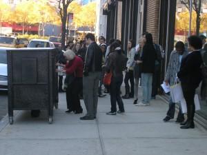 19th Street   Outside Zwirner   November 13, 2010