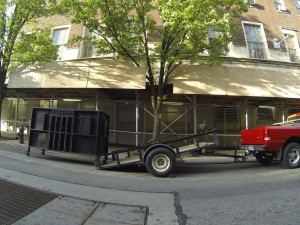 May 2014, Loading Barbara on 104th Street between Fifth & Madison Avenues